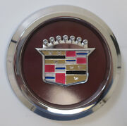 Appliance Plating Center Caps For Cadillac Wire Wheels Ap Cadillac Emblems New