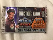 Dr Who 50th Anniversary Edition Cards, 9 Cards