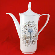 Milkwood By Spode Coffee Pot 11.5 Tall Bone China New Never Used Made England