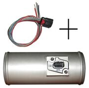Pro-m Racing 3.0 Pro Tube Blow-thru Mass Airflow Slot Maf Sensor And Pigtail Ford