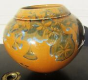 EXCEPTIONAL HAND PAINTED STUDIO ART POTTERY SIGNED VASE MID CENTURY MODERN