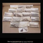 Rare Lot 19 Wwi Photographs Troops Trucks Infantry Artillery Guns Searchlights