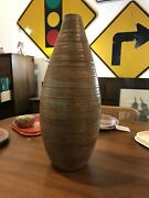 Large Mid Century Joanna Price Studio Art Pottery Vase