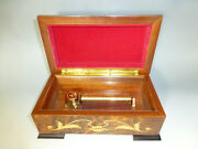 Vintage Reuge Music Box 72/3 Plays Swiss Yodel,the Old Chalet Swiss, Love Song.