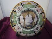 Vintage 1930and039s Lamberton Scammell China Boca Raton Club Plate Art Deco Design