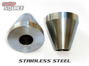 Motorcycle Frame Jig Neck Cones - Stainless Steel - 2 O.d. - Chopper - Harley