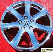 Set Of 4 Chrome 17 Oem Factory Wheels Rims For Acura Tsx Rsx Tl Cl Rl 71731