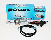 Exedy Master And Slave Cylinder And Black Clutch Line Kit 94-01 Acura Integra