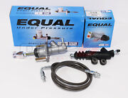 Exedy Master And Slave Cylinder And Gunmetal Clutch Line Kit 94-01 Acura Integra