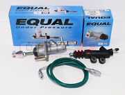 Exedy Master And Slave Cylinder And Stainless Clutch Line Kit 94-01 Acura Integra