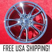Set Of 4 Chrome 19 Ford Mustang Oem Factory Wheels Rims 3862