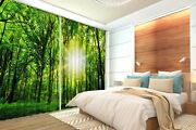 3d Forest Sun 720 Blockout Photo Curtain Print Curtains Drapes Fabric Window Us