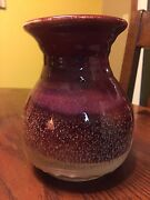 Well Made Studio Pottery Vase Signed Stokes Dated 67'