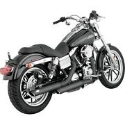 New Vance And Hines Vance And Hines Twin Slash 3in. Slip-ons Black 46837