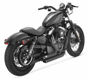 Vance And Hines Shortshots Staggered Exhaust Black Harley Xl Sportster 2004 - 2013