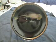 Studio Art Pottery Hand Decorated Plate, Signed