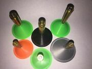 Caliber Specific Reloading Funnel - Tight Fit No Spill - Multiple Colors And Cali