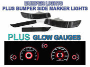 Smoke Bumper Lights+side Markers+red Glow Gauges For 91-95 Toyota Mr2 Sw20 Turbo