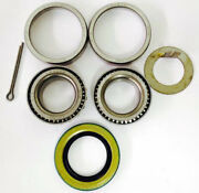 Trailer Bearings Kit For 1-1/16 Straight Spindle 44649/44649 And Seals - 2 Kits