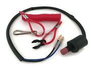 Kill Stop Switch Lanyard 87-97765m Fit Mercury Mercruiser Mariner Outboard 2/4t