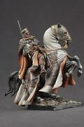 Tin Toy Soldiers Elite Painted 90 Mm Templar Knight At Holy Land Xiii Cen.