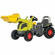 Rolly Toys Claas Elios Tractor With Front Loader Toy Ride On Kids Farm