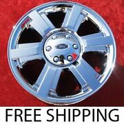 Set Of 4 Chrome 20 Ford F-150 Oem Factory Wheels Rims Expedition Navigator 3646