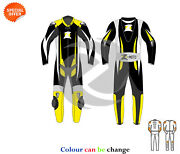 Racing Leather Suit One Piece Or Two Piece Fully Customize Any Size And Color
