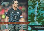 2015 Panini Select Soccer 'national Pride' Camo Parallel Serial Numbered /249