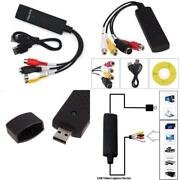 Usb Video Capture Converter Analog To Digital Vhs Vcr Tv To Pc Computer Laptop