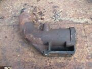 1976 1370 Case Diesel Farm Tractor Exhaust Manifold Elbow Free Shipping