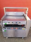 Rieber Varithek Acs1000-ec Chrome Grill / Independent Extraction System Built In