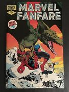 Marvel Fanfare 1 Spider-man Cover 9.8 Nm-mt White Pages