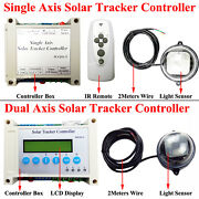 Electronic Single/dual Axis Pv Solar Panel Tracking Tracker Sun Track Controller