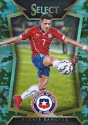 2015 Panini Select Soccer Base Common Camo Parallel Variation D /249 - 1-50