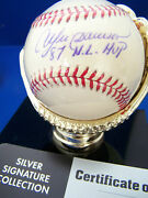 Expos Cubs Andre Dawson Signed Auto Nl Baseball W/ Inscription And03987 N.l.mvp Stien