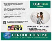 Lead Test Kit In Dust Wipes 10pk 1 Bus. Day Schneider Labs