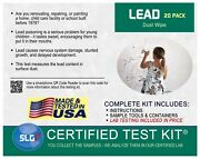 Lead Test Kit In Dust Wipes 20pk 1 Bus. Day Schneider Labs