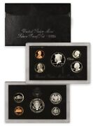 1995 S Proof Set Original Black Box And Coa 5 Coins 90 Silver Kennedy Us Mint