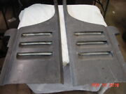 Corvette C2 1965 66 Nos Side Louvers Left And Right