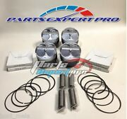81mm High Compression Pistons And Npr Racing Rings Acura Integra Civic Si Type R