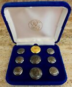 A Set Of Waterbury Company 1812 Buttons For The United States Olympic Committee