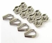 Mastrant 4mm Hardware Pack For 4mm Rope - Includes 4 Units