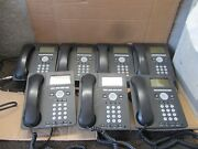 Lot Of 8 Avaya 9620 Ip Digital Office Phones With Handsets And Stands