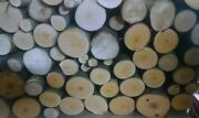 Birch Wood Logs For Bbq/grilling/wood Smoking Arts And Crafts14lbs-17lbs