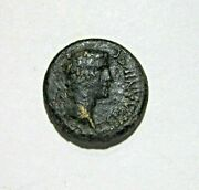 Phrygia, Aizanis. Ae 17. Germanicus And Agrippina, Struck By Caligula 37-41 Ad