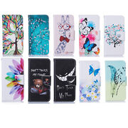 10pc/lot Wallet Flip Leather Card Slot Cover Case For Samsung Lg Iphone Motorola