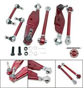 Gsp Adj. Front Lower Control Arms + High Angle Tension Rods For 17-up Toyota 86