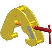 New Small Frame Clamp F/wide Flange Beams-2240 Lb. Cap-rfid Tracking Chip