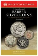 Official Red Guide Book Us Barber Silver Coins Collector Book New 2nd Edition
